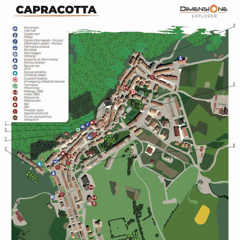 Mappa Turistica Capracotta